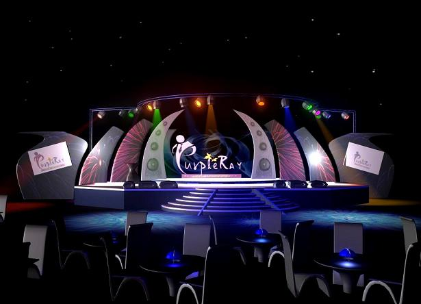 Pramod3ddesigner Stage Design For Perpal Ray